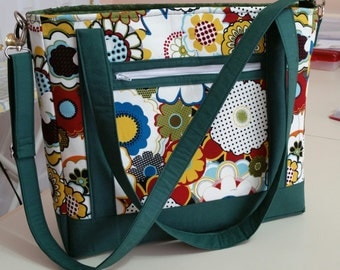 Colorful Tote Bag (Made in America)