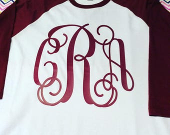 Personalized Monogrammed Tee