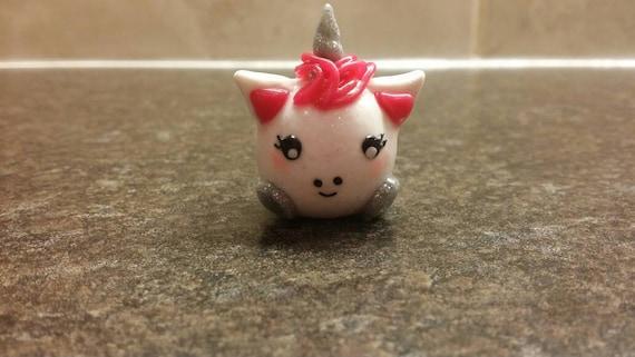 Chubby Unicorn Charm