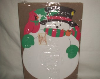 Vintage Currents Snowman Christmas Stationary (20 Sheets)