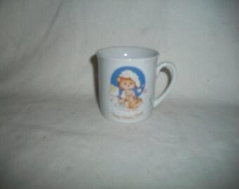 Vintage 1982 Teddy Beddy Bear Child Cup by Enesco