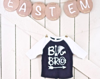 Big Bro Baseball T-shirt Toddler