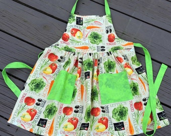 Children's Apron - Garden Goodies