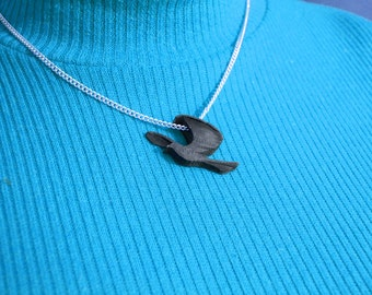 3D Printed Mockingbird Necklace.