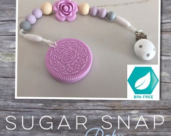 Silicone Chocolate oreo teether - bpa free - chew toy - bite toy - toddler toy - newborn gift - baby gift - silicone toy