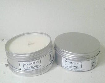Taffy retained fragrance candle