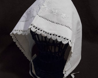 Embroidered Cap. 19TH CENTURY