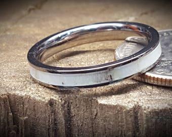 deer antler ring etsy - Deer Antler Wedding Rings