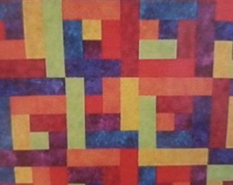 Crayons Quilt Pattern by We Do & U Can 2 by Eileen Sullivan, Nite-Nite Quilt Pattern