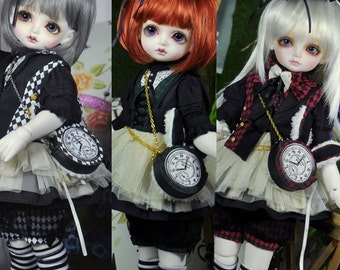 CODENOiR - BJD clothes RomanceRabbit for MSD / MDD / AngelPhilia / Obitsu50 / VMf50 / 1/4 BjD Girl