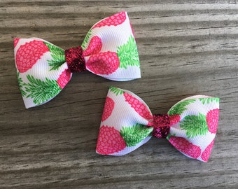 Baby Pineapple Bows / Small Pineapple Bows
