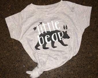 Toddler Girl Little Bear Shirt, Little Bear Shirt, Baby Bear Shirt, Girl Little Bear Shirt, Mama Bear Shirt, Brother Bear, Sister Bear