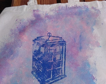 Dr. Who Tardis bag