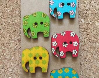 Elephant Thumb Tacks/Push Pins/Magnets- FREE SHIPPING