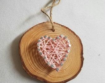 Little string art heart