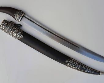 Russian Caucasian Dagger Kindjal Knife Sword Shashka Shamshir Qama