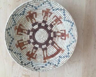 SALE Native American Coiled Tray