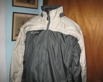 Fort Knox Men's Windbreaker Jacket Size medium Fort Knox Kentucky Souvenir Clothing Military Collectable  free shipping in the u s a