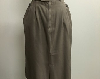 35% OFF --- Western Style Gray C.G. Skirt