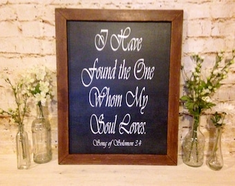 Farmhouse Picture Frame, Farmhouse Quote, Fixer Upper Decor, Vintage Frame, It is Well with my soul