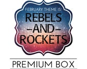 "OVERSTOCK Premium ""Rebels and Rockets"" Box"