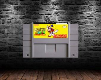 Dr. Mario World House Calls - ROMhack - Save the Day as Dr Mario - SNES
