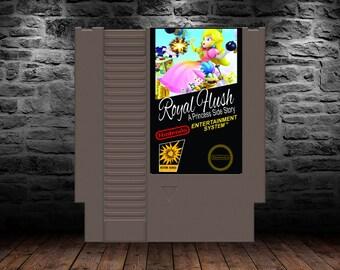 Royal Flush Princess Sidestory - There's a new hero in the mushroom kingdom! - ROMHack - NES