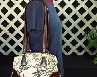 Free Shipping! Handbag, Swoon Brooklyn, Faux Leather, Brown, Shoulder Bag, Tan
