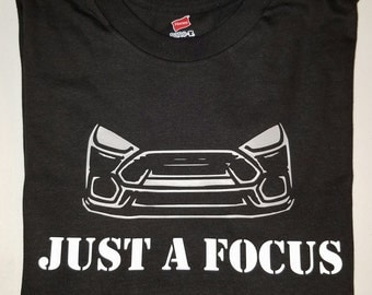 "Mens Shirt ""Just A Focus"" RS Design"