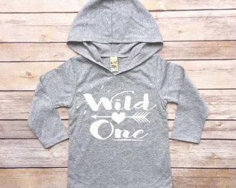Wild One - Wild One Outfit, Wild One Shirt, Wild One Bodysuit, Toddler Long Sleeve Shirt, Toddler Hoodie, Toddler Hoodies, Wild One Top