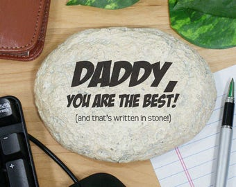 Personalized Engraved Father's Day Keepsake Custom Name Gift