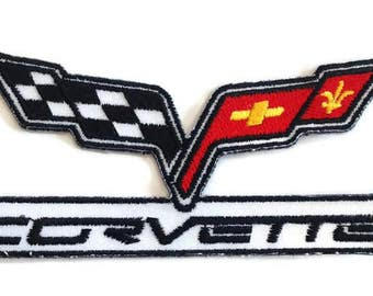 Corvett Embroidered Patch