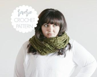 PATTERN | Reverie Handmade Crochet Ladder Infinity Scarf | THE TAIN