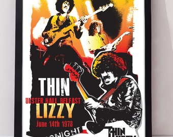 Poster Art Thin Lizzy The Rocker 16 5 X 11 69