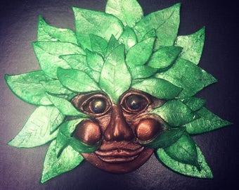 Handmade Green man