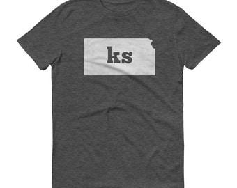 Kansas Tshirt, Kansas, Kansas Shirt, KS Shirt, Kansas Tee, State Pride, Kansas Gifts, Kansas State, Kansas Map, Shirt, TShirt, Tee, KS