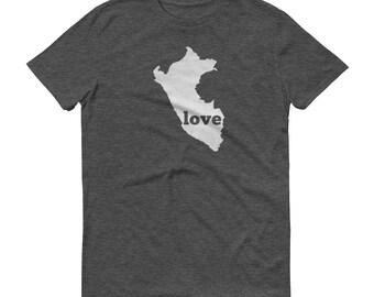 Peru, Peru Clothing, Peruvian Shirt, Peru T Shirt, Peru TShirt, Peru Map, Peruvian Gifts, Made in Peru, Peru Love Shirt, Peruvian