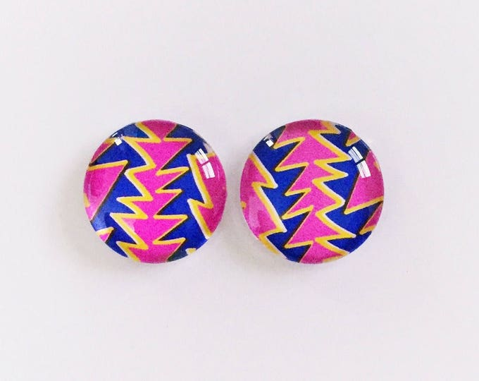 The 'Everly' Glass Earring Studs
