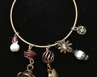 Beauty and the Beast Bangle Bracelet