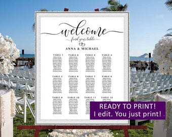 Wedding seating chart personalized,Wedding find your sit,Wedding seating board,Rustic wedding seating plan,Rustic wedding seating chart,22