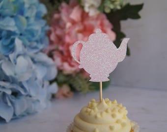 Teapot Cupcake Topper