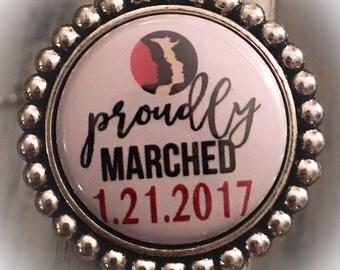 Women's March on Washington Brooch, Nasty Woman, Jewelry, March on Washington,  Womens March,  Nasty Woman Jewelry, Women's Rights, Human