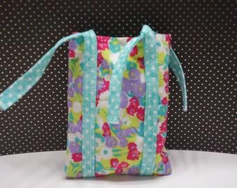 Lavender satchel