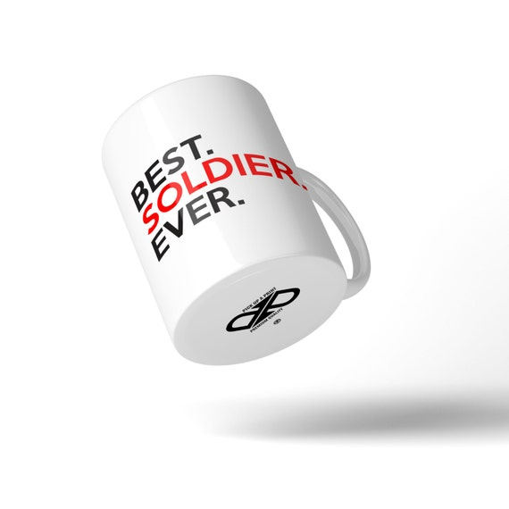 Best Soldier Ever Mug - Great Gift Idea Stocking Filler
