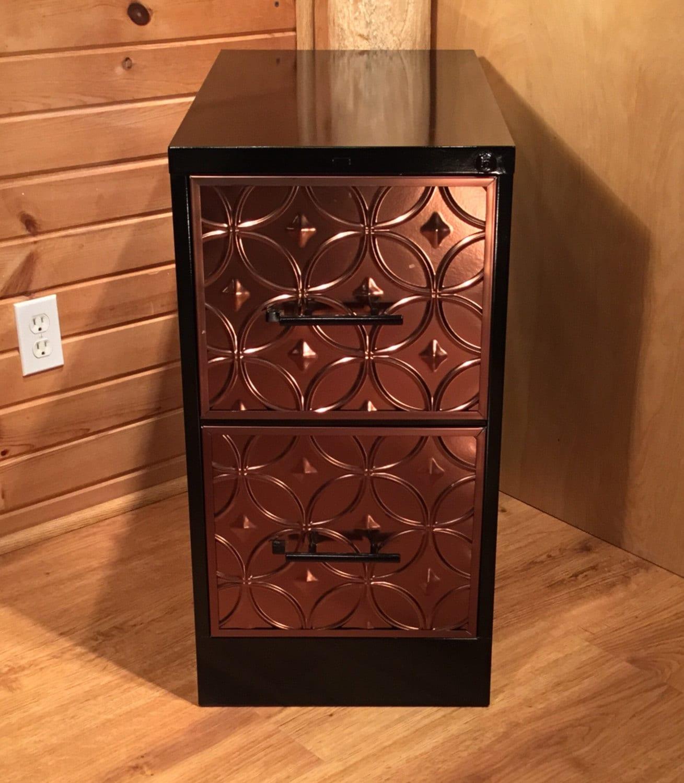 refinished custom 2 drawer file cabinet office furniture. Black Bedroom Furniture Sets. Home Design Ideas