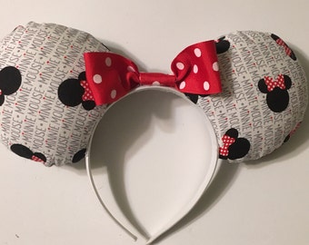 Minnie themed ears