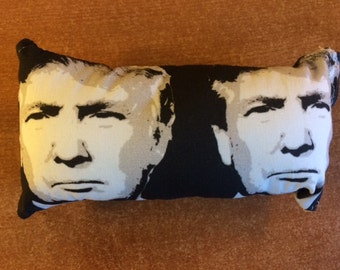 Trump Destroy with Joy Dog Toy with Squeaker