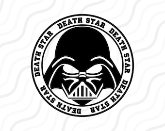 Darth Vader SVG, Star Wars SVG, Star Wars silhouette SVG Cut table Design,svg,dxf,png Use With Silhouette Studio & Cricut_Instant Download