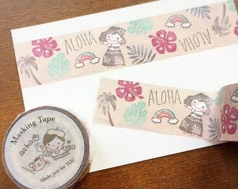 acha original washi tape (wide)- Hawaiian