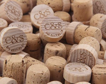 Monogram Wine Stoppers, Personalized Wine Stopper, Wedding Wine Stopper, Bridesmaid Wine Stopper-Name Letter Wine Stopper